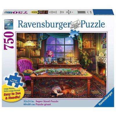 RAVENSBURGER USA PUZZLERS PLACE 750 PC PUZZLE