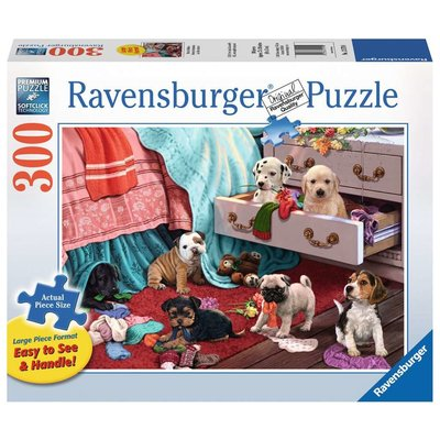RAVENSBURGER USA MISCHIEF MAKERS 300 PC PUZZLE