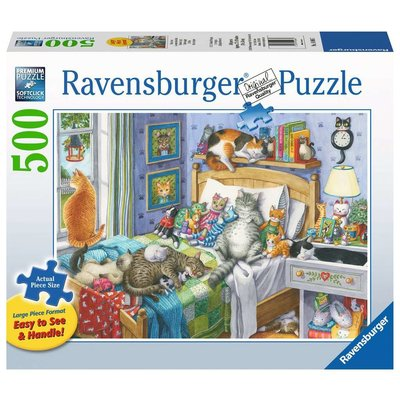 RAVENSBURGER USA CAT NAP 500 PIECE