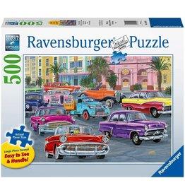 RAVENSBURGER USA CRUISIN' 500 PC PUZZLE
