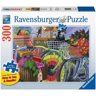RAVENSBURGER USA BICYCLE GROUP 300 PC PUZZLE