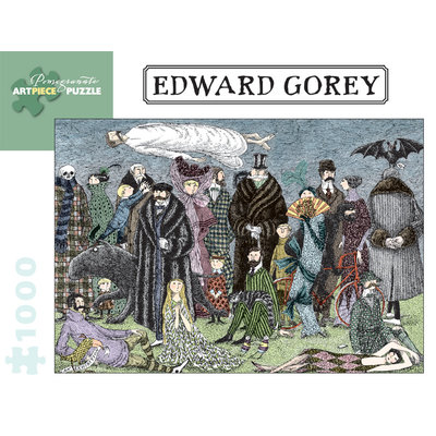 POMEGRANATE EDWARD GOREY 1000 PC PUZZLE