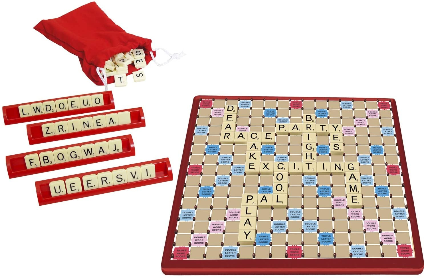 Tile Lock Travel Scrabble The Toy