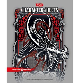 WIZARDS OF THE COAST D & D 5th CHARACTER SHEETS