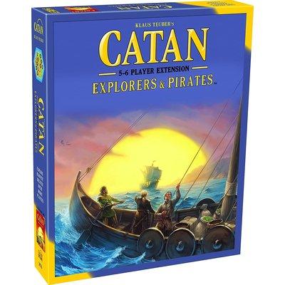 ASMODEE CATAN EXPLORERS & PIRATES 5-6 EXTENSION
