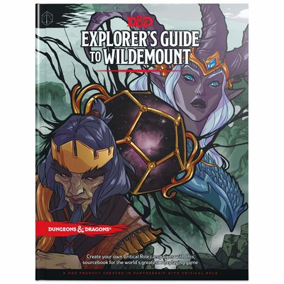 WIZARDS OF THE COAST D & D 5th EXPLORERS GUIDE WILDEMOUNT