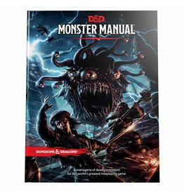 WIZARDS OF THE COAST D & D 5th MONSTER MANUAL