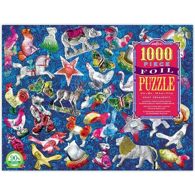 EEBOO SHINY ORNAMENTS 1008 PC PUZZLE