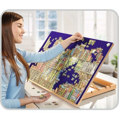 RAVENSBURGER USA WOODEN PUZZLE BOARD