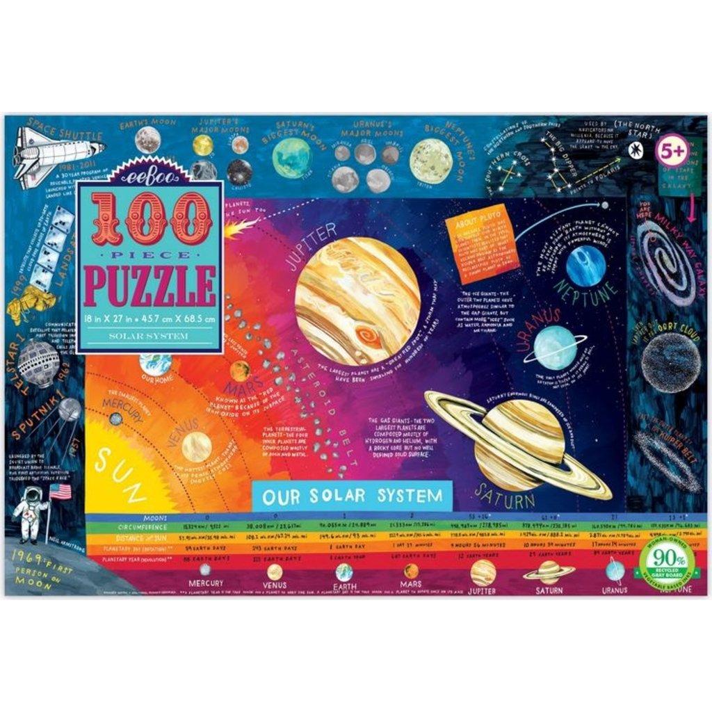 EEBOO SOLAR SYSTEM 100 PIECE