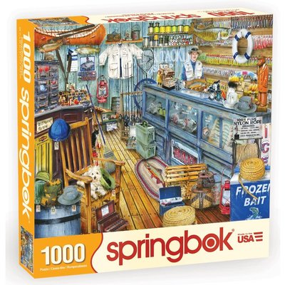 SPRINGBOK THE BAIT SHOP 1000 PIECE