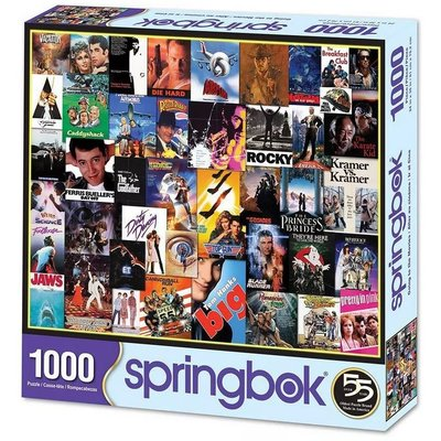 SPRINGBOK GOING TO THE MOVIES 1000 PIECE