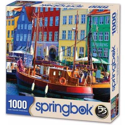 SPRINGBOK COPENHAGEN WATERFRONT 1000 PC PUZZLE