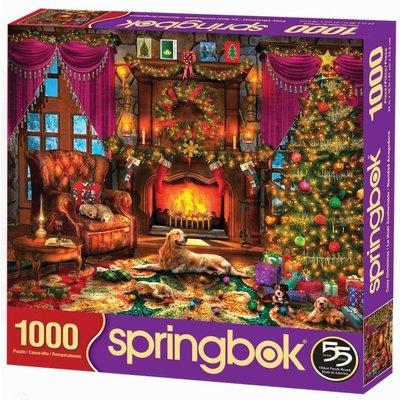 SPRINGBOK COZY CHRISTMAS 1000 PC PUZZLE