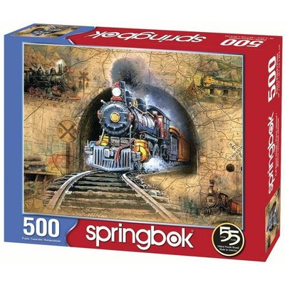 SPRINGBOK FULL SPEED AHEAD 500 PC PUZZLE