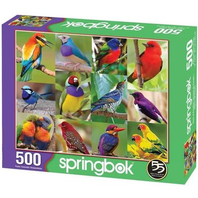 SPRINGBOK BIRDS OF PARADISE 500 PIECE