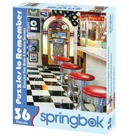 SPRINGBOK MALT SHOP 36 PC PUZZLE