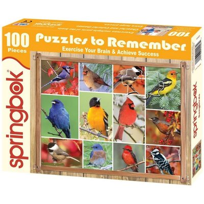 SPRINGBOK SONGBIRDS LARGE FORMAT 100 PC PUZZLE