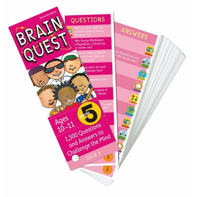 WORKMAN PUBLISHING BRAIN QUEST CARDS GRADE 5
