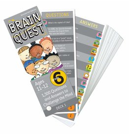 WORKMAN PUBLISHING BRAIN QUEST CARDS GRADE 6