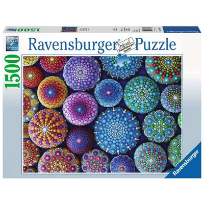 RAVENSBURGER USA ONE DOT AT A TIME 1500 PC PUZZLE