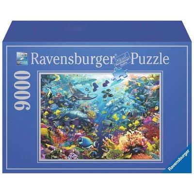 RAVENSBURGER USA UNDERWATER PARADISE 9000 PC PUZZLE
