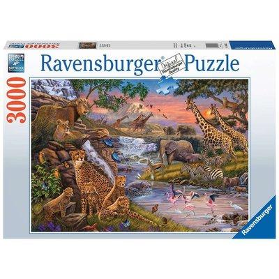 RAVENSBURGER USA ANIMAL KINGDOM 3000 PIECE