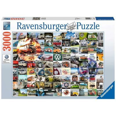 RAVENSBURGER USA 99 VW CAMPERVAN MOMENTS 3000 PC PUZZLE