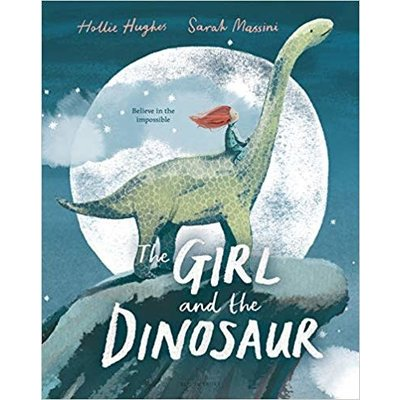 BLOOMSBURY GIRL AND THE DINOSAUR HB HUGHES