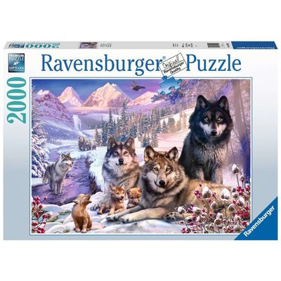 RAVENSBURGER USA WOLVES 2000 PIECE