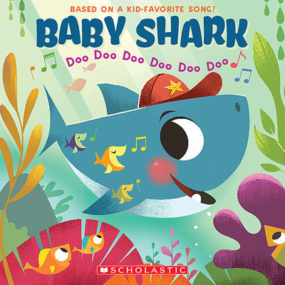 SCHOLASTIC BABY SHARK PB BAJET