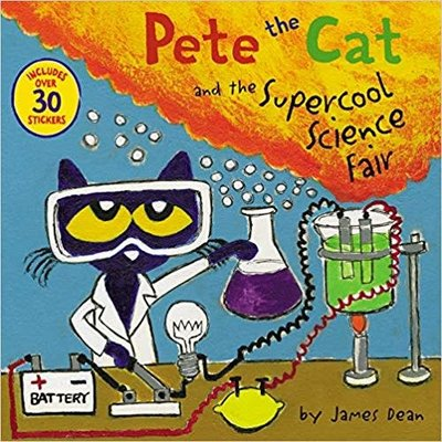 HARPERCOLLINS PUBLISHING PETE THE CAT AND THE SUPERCOOL SCIENCE FAIR