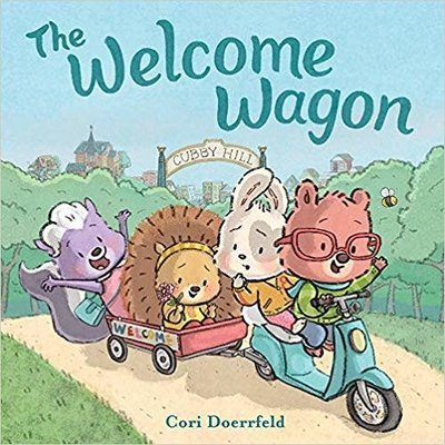 ABRAMS BOOKS THE WELCOME WAGON