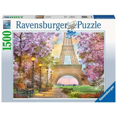 RAVENSBURGER USA A PARIS STROLL 1500 PC PUZZLE