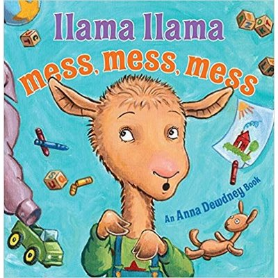 VIKING BOOKS LLAMA LLAMA MESS, MESS, MESS