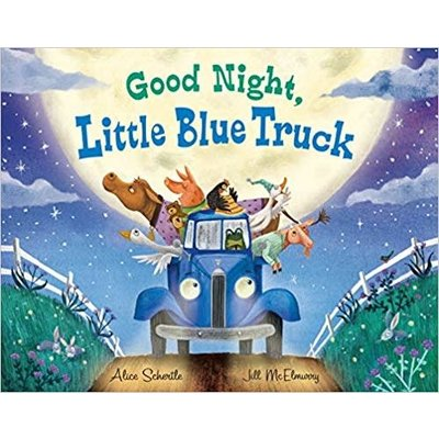 HMH BOOKS FOR YOUNG READERS GOOD NIGHT LITTLE BLUE TRUCK HB SCHERTLE