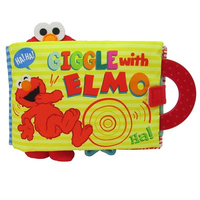 KIDS PREFERRED GIGGLE WITH ELMO SOFT BOOK
