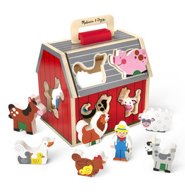 MELISSA AND DOUG TAKE ALONG SORTING BARN