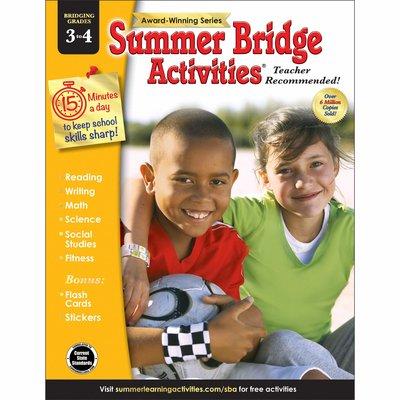 CARSON DELLOSA SUMMER BRIDGE 3-4
