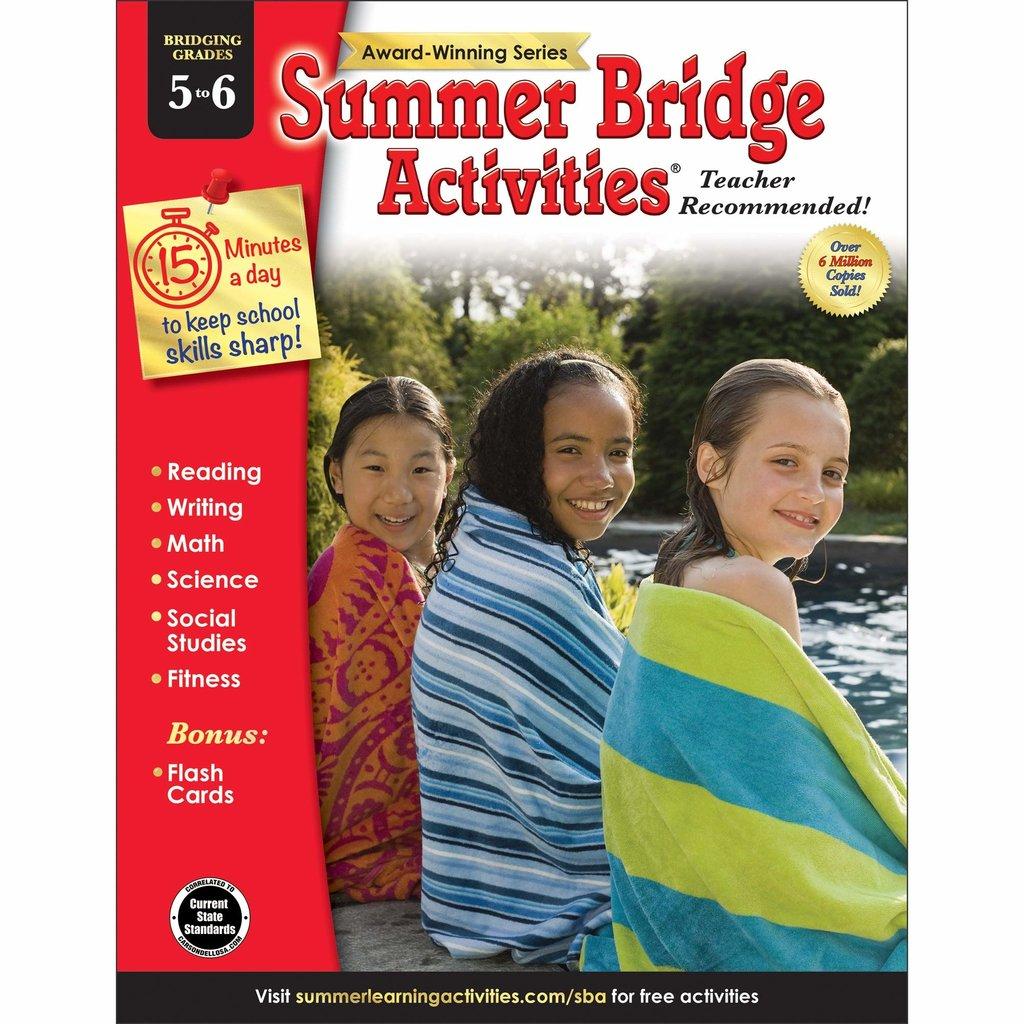 CARSON DELLOSA SUMMER BRIDGE 5-6*