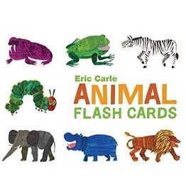 CHRONICLE PUBLISHING ANIMAL FLASH CARDS ERIC CARLE