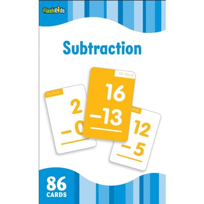 STERLING PUBLISHING SUBTRACTION FLASHCARDS FLASH KIDS*