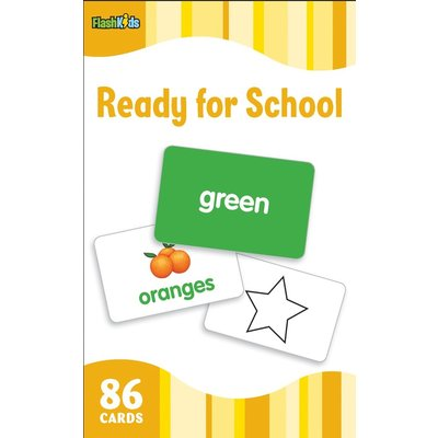 STERLING PUBLISHING READY FOR SCHOOL FLASHCARDS FLASH KIDS