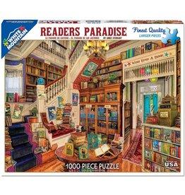 WHITE MOUNTAIN PUZZLE READERS PARADISE 1000 PC PUZZLE