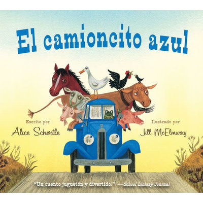 HMH BOOKS FOR YOUNG READERS LITTLE BLUE TRUCK (SPANISH) BB SCHERTLE