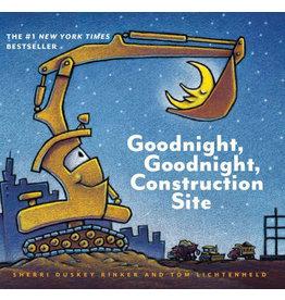 CHRONICLE PUBLISHING GOODNIGHT GOODNIGHT CONSTRUCTION SITE BB RINKER