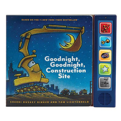 CHRONICLE PUBLISHING GOODNIGHT GOODNIGHT CONSTRUCTION SITE SOUND BB RINKER