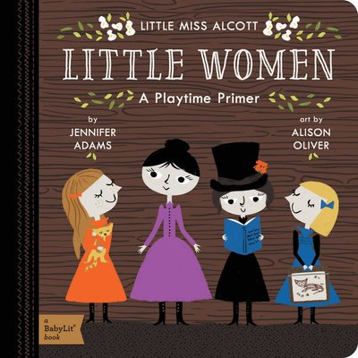 GIBBS SMITH BABY LIT LITTLE WOMEN BB ADAMS
