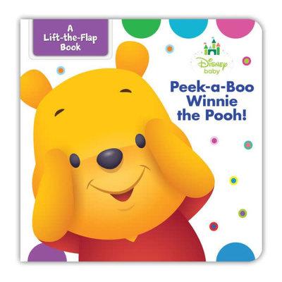 HACHETTE BOOK GROUP WINNIE THE POOH PEEK A BOO LIFT THE FLAP BB DISNEY