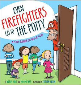 SIMON AND SCHUSTER EVEN FIREFIGHTERS GO TO THE POTTY HB WAX